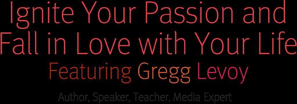 Gregg Levoy Page header